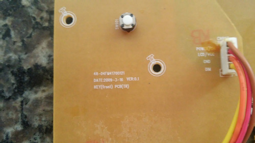 philips mini system placa display 48-04fm41700121
