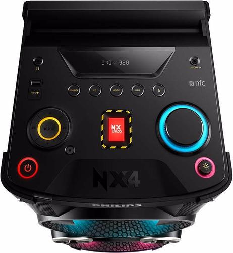 philips minicomponente ntx401x/77 bluetooth usb nfc torre