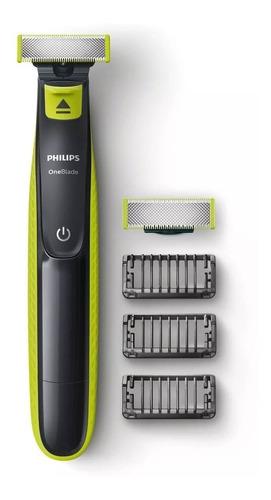 philips oneblade qp2526/10 híbrida recortá modelá y afeitá