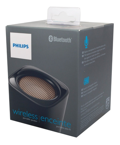 philips parlante bluetooth bt100 - phone store