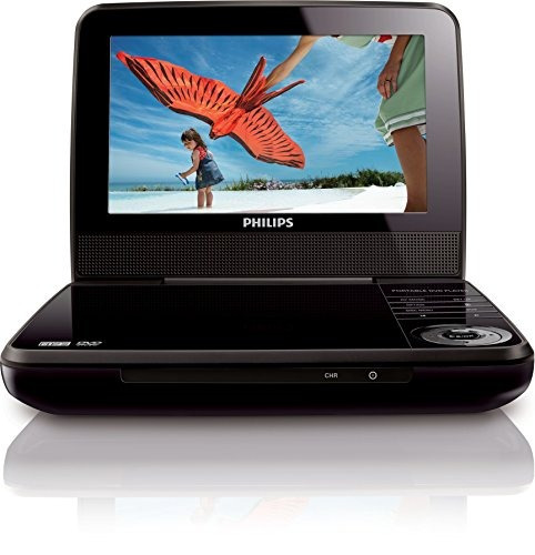 philips pet741m/37 leitor de dvd portátil
