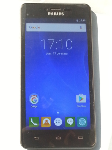 philips s326 4g - libre dual sim - android 5.1 gtía 6 meses