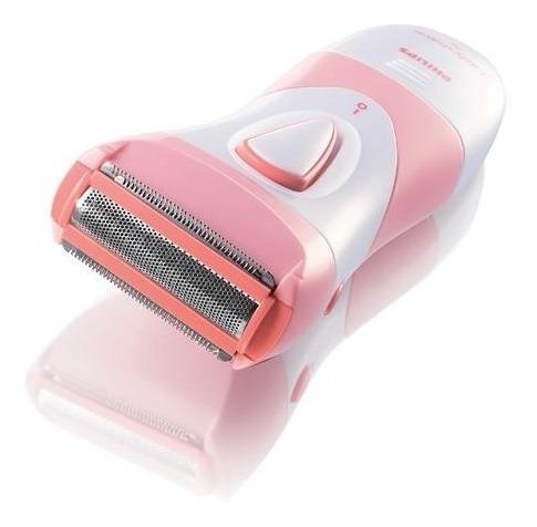 philips satinshave essential afeitadora eléctrica mujer