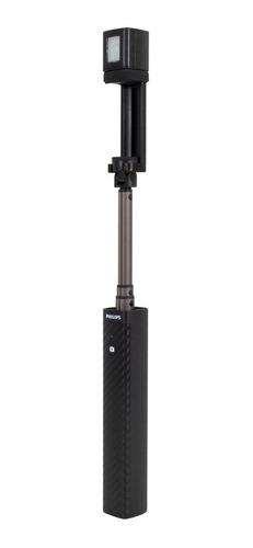 philips selfie stick con flash control remoto wireless