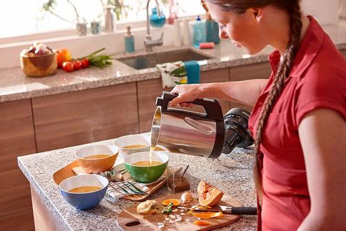 philips soup maker hr2203/80 máquina para sopas purés batido
