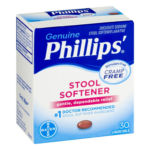 phillips' ablandador fecal - 30 ct