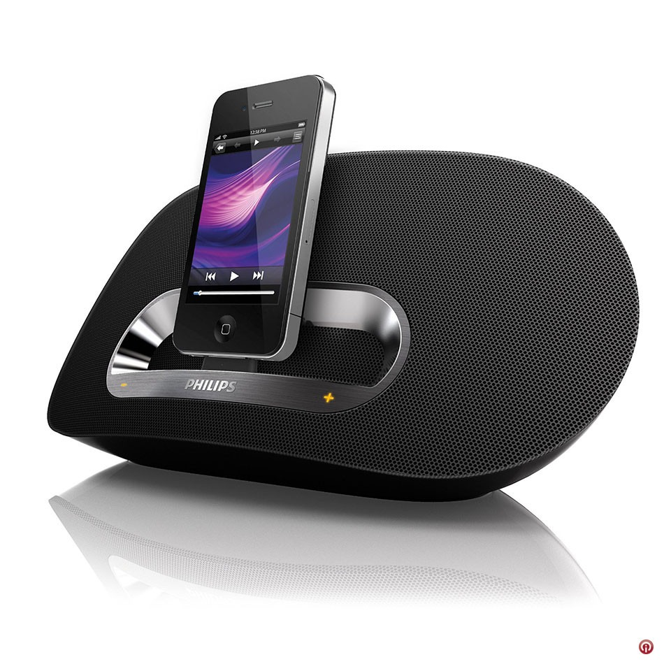 Phillips Bocina Base Dock Iphone Ipad Ipod 30 Pin Bluetooth ...