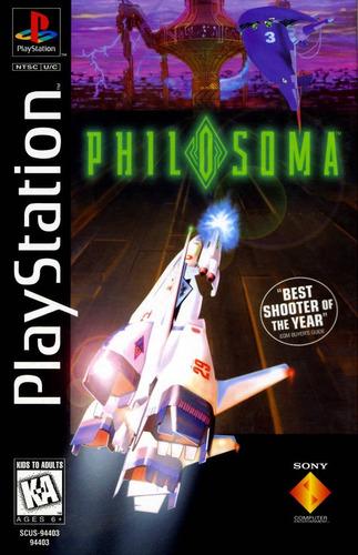 philosoma  ps1 compatible con ps2