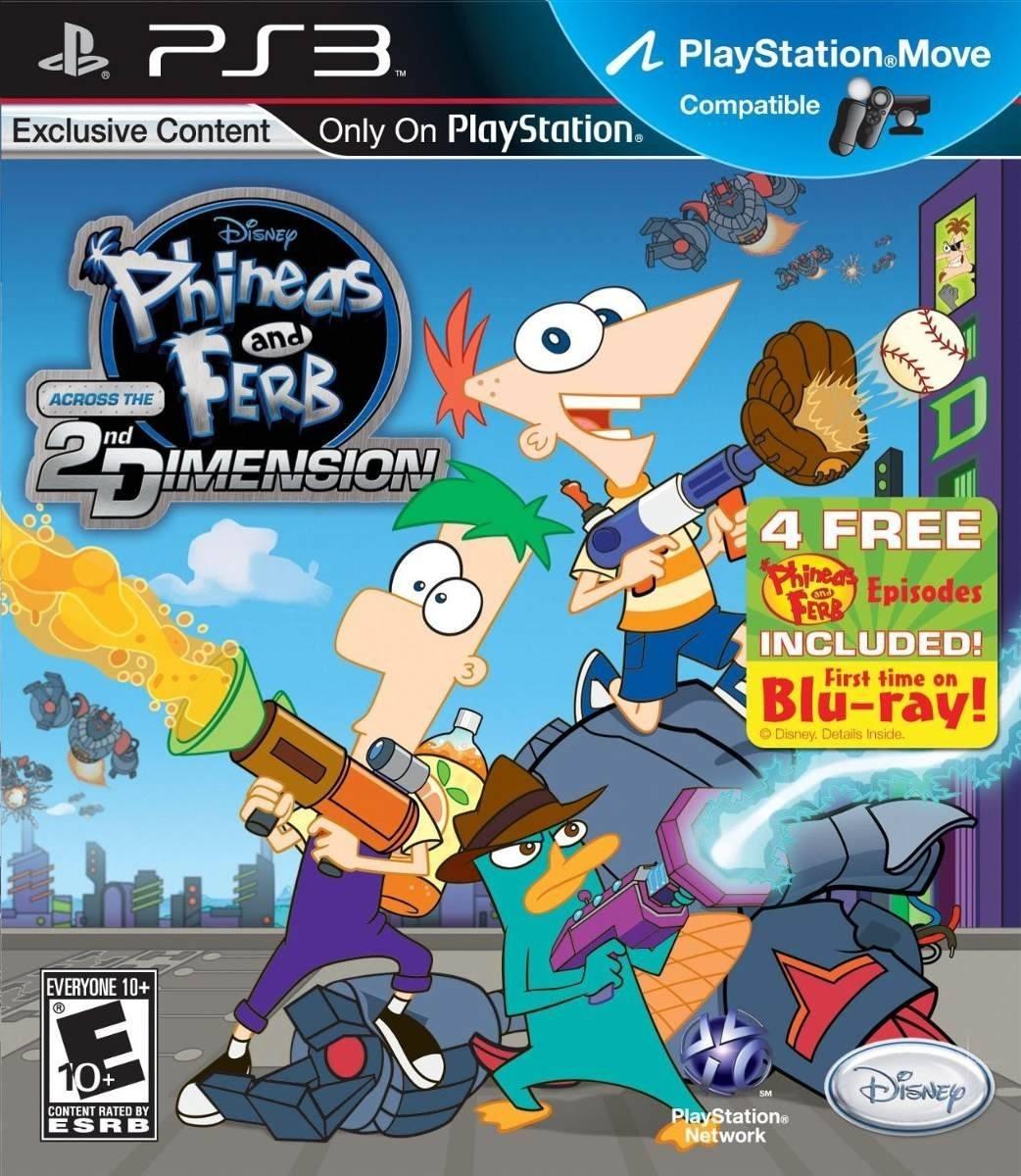 Phineas y Ferb: A Través de la Segunda Dimensión (SEMINUEVO)