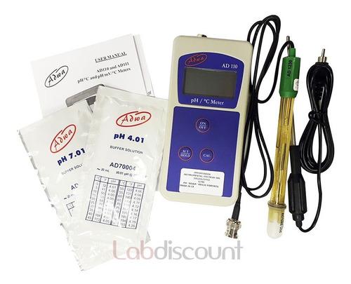 phmetro de mano  adwa  ad110 portable meter ph/tem