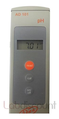 phmetro medidor de ph portátil adwa ad101