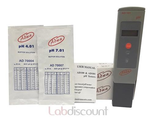phmetro medidor de ph portátil adwa ad101  pocket tester