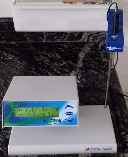 phmetro (ph, mv e temperatura) - noxtron - modelo nox68