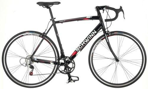 phocus  gota bar carretera bicicleta schwinn varonil, negro