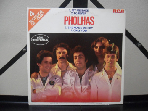 pholhas my mistake + 3 faixas compacto promo raridade