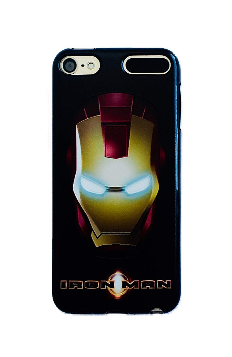 c928f4cdebb Phone Kandy Black Soft Tpu Gel Funda Para iPod Touch Marvel ...
