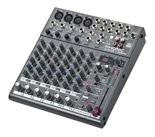 phonic helixboard 12u mixer multitrack 10ch usb firewire