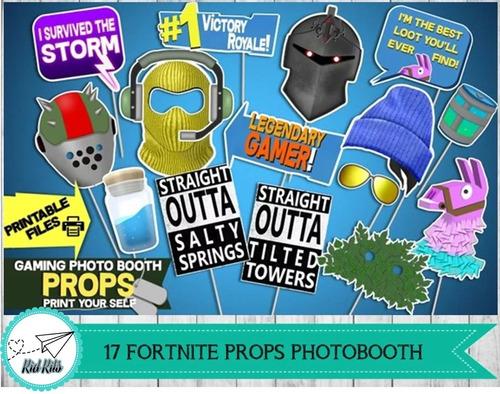 photo booth fornite fortnite imprimible
