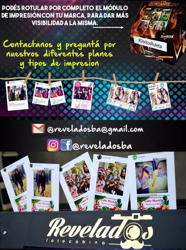 photobooth fotocabina eventos fotos instantáneas hashtag
