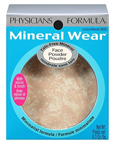 physicians formula mineral wear polvo de cara mineral sin ta