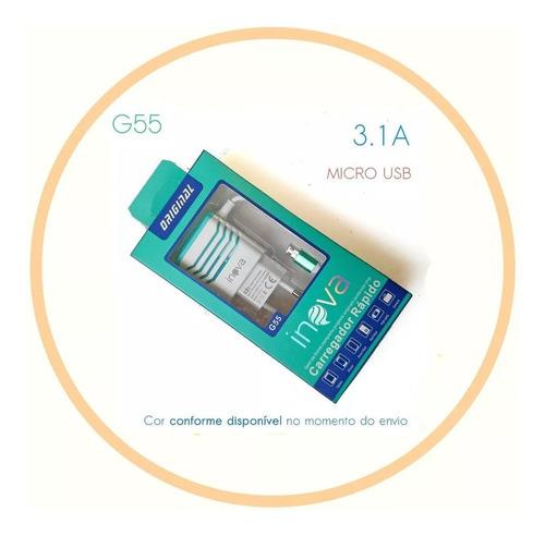 pi pi2 pi3 - fonte 3a 5v rasperberry com cabo micro usb v8