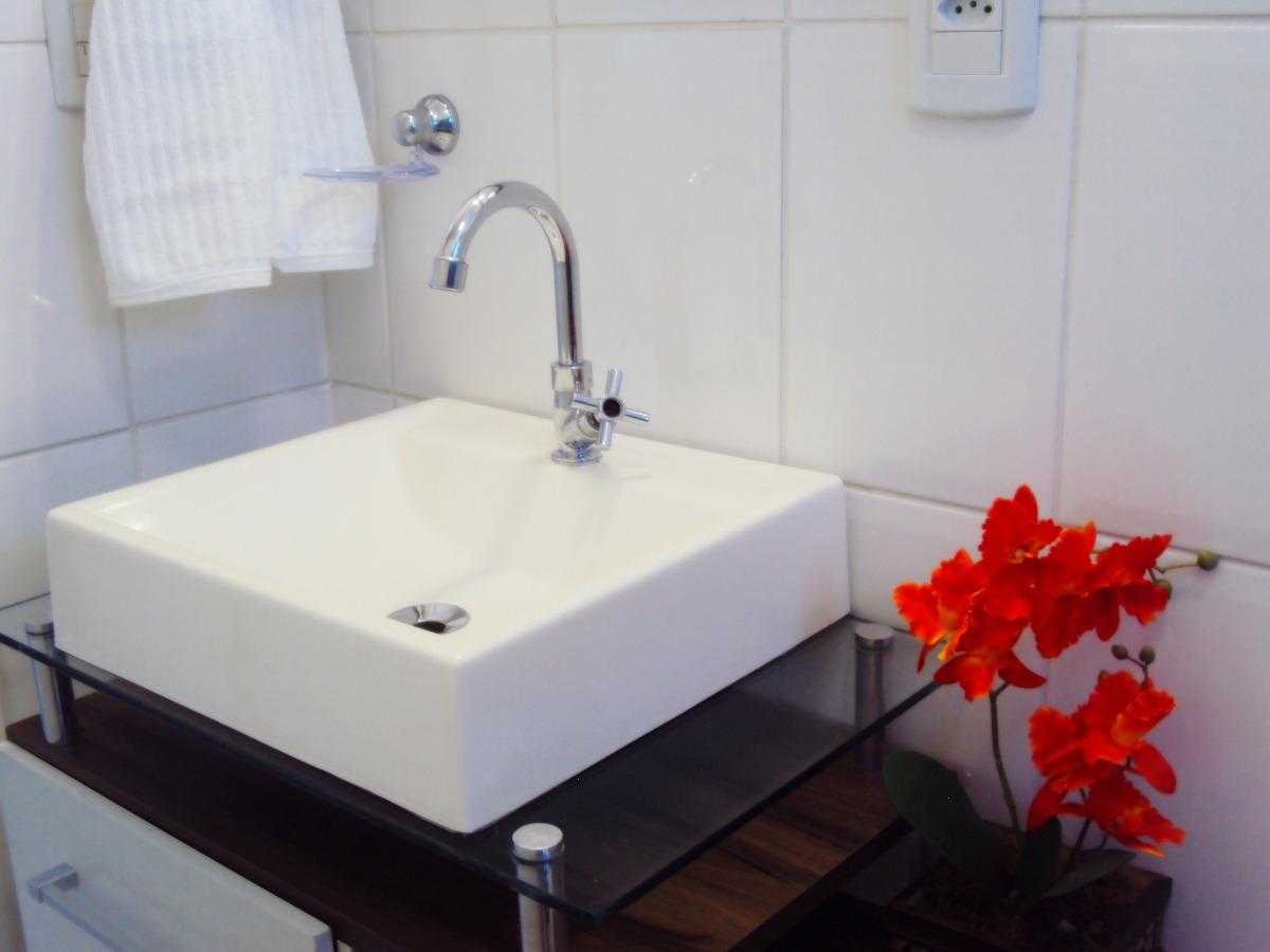 Pia Cuba Sobrepor Para Banheiro  R$ 99,90 em Mercado Livre -> Pia Para Banheiro Mercado Livre