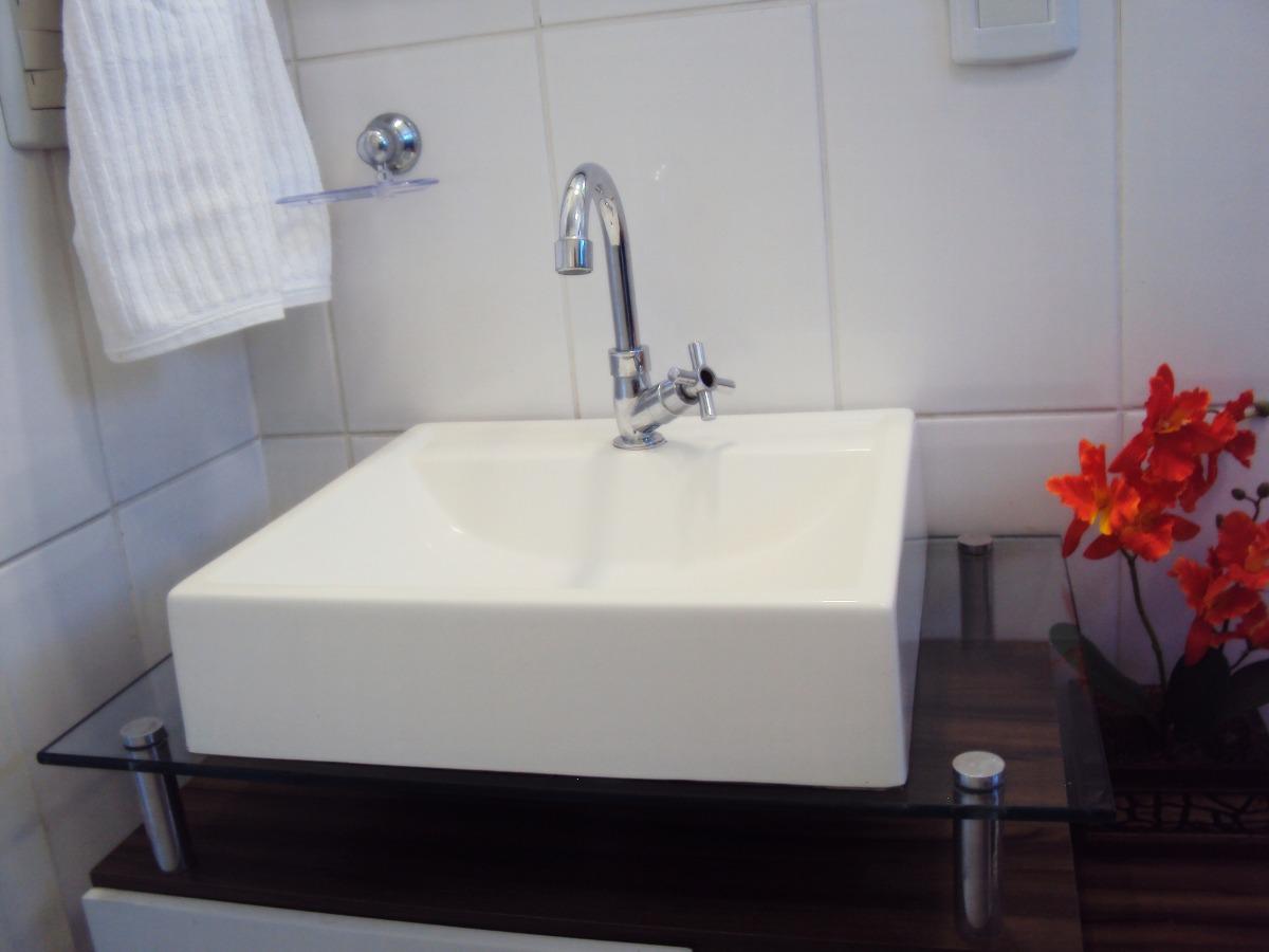 Pia Cuba Sobrepor Para Banheiro  R$ 99,90 em Mercado Livre -> Cuba De Banheiro Laranja