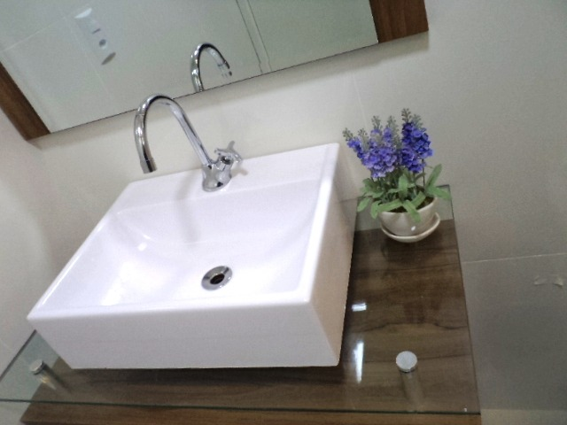 Pia De Sobrepor Moderna Lavatório Para Banheiro E Lavabo  R$ 124,90 em Merca -> Pia De Banheiro Sobrepor