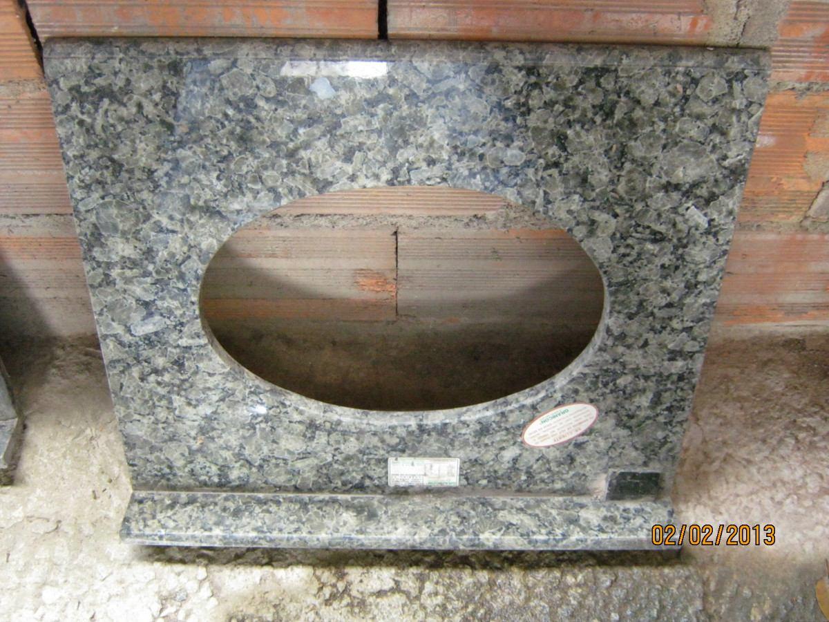Pias Novas De Granito Para Banheiro Para Gabinete Sendo 1 Com Medid  #7F604C 1200 900