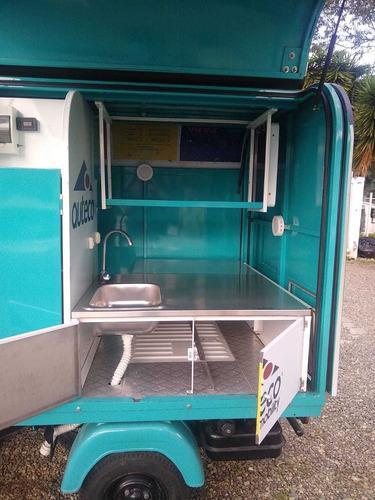 piaggio ape 501 diesel moto food