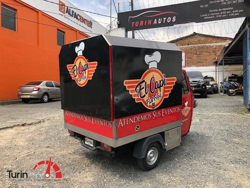 piaggio ape 501 furgon d600 2017 motor diesel
