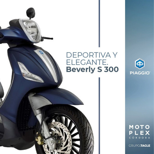 piaggio beverly 300 abs 2020