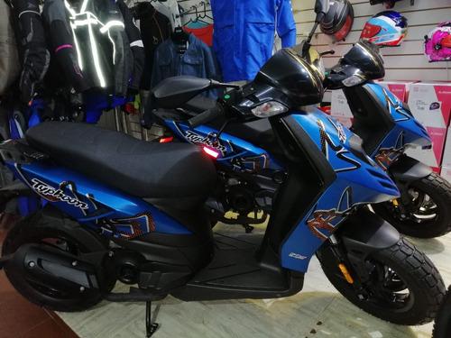 piaggio typhoon 50 cc scooter cerokm financio 36 cuotas