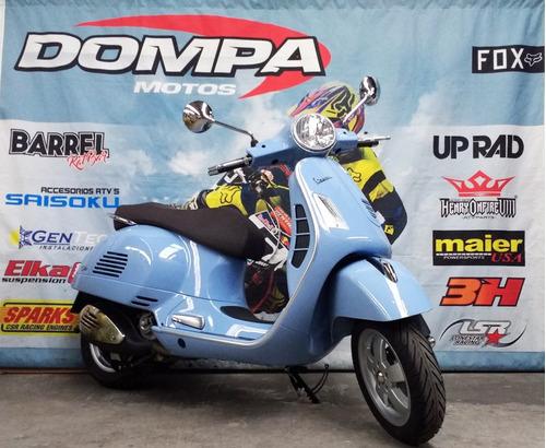 piaggio vespa gts 300 scooter abs calle dompa motos