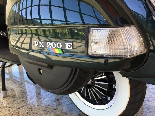 piaggio vespa px200, motoneta 0km, motos antigas