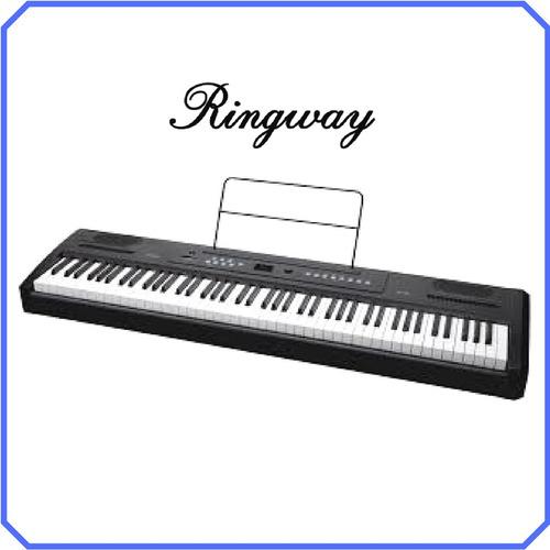 piano 88 teclas con acción de martillo, modelo rp-20 ringway
