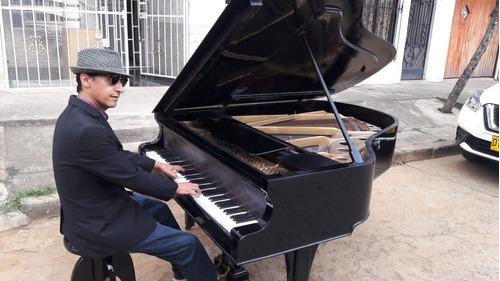piano aleman de media cola m.f. rachals & co.- schutzmarkt