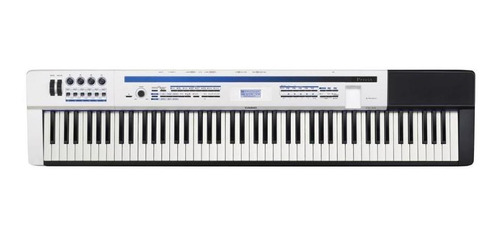 piano casio digital de escenario privia px-5s blanco/negro