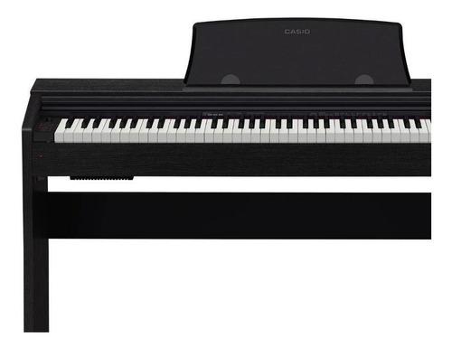 piano casio digital privia px-770bk negro