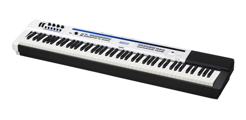 piano casio privia px5 we stage 88 teclas branco com pedal