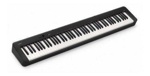 piano casio stage digital preto cdp-s100bkcs-br