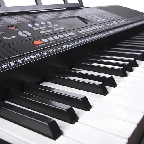 piano con teclado de 61 teclas