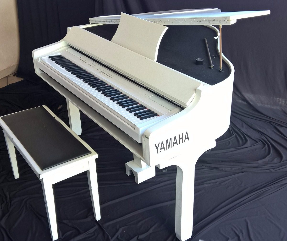 piano de cauda yamaha arma o piano digital yamaha pc105 r em mercado livre. Black Bedroom Furniture Sets. Home Design Ideas