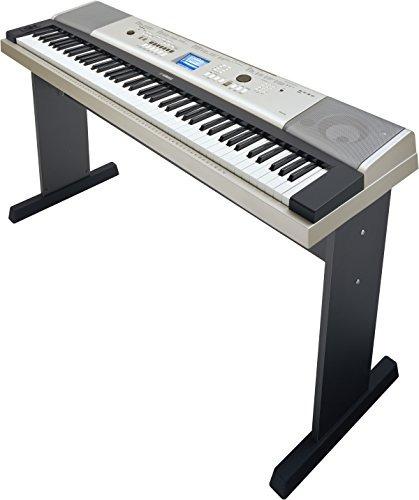 piano de cola portátil yamaha ypg-535 88 teclas con soporte
