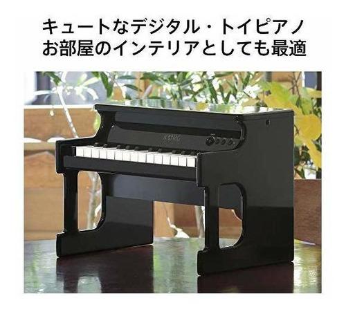 piano de juguete digital korg tinypiano - negro