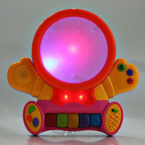 piano de juguete educativo hanglei colorido para bebés