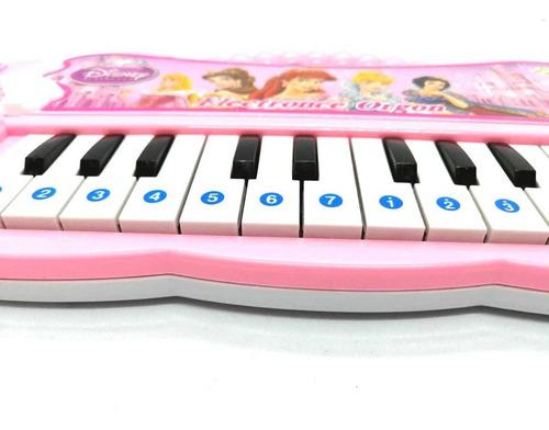 piano de las princesas disney