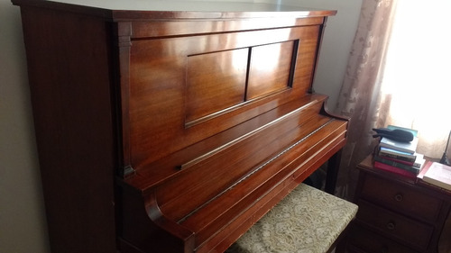 piano de pared wellsmore & co, new york (1918)