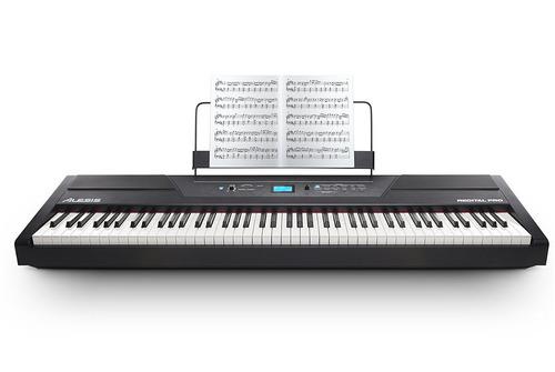 piano digital alesis recital pro de 88 teclas
