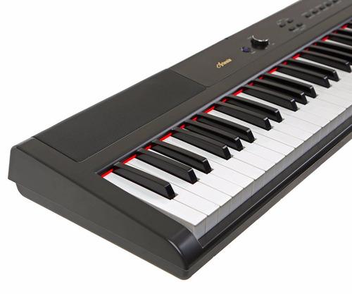 piano digital artesia 88 semi pesadas teclas pa 88 w